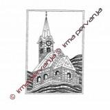 500401 - Church - 21 x 30 cm