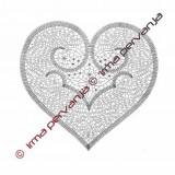 500901 - Heart - 30 cm