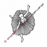 503101 - Ballet dancer - 25 cm