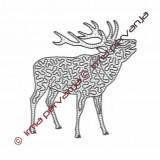 503501 - Deer - 27 x 30 cm