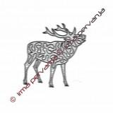 503502 - Deer - 18 cm