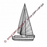 507501 - Barca a vela - 24 cm