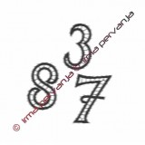 508402 - Number 2 - 5 cm