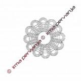 100101 - Brosche - 11 cm