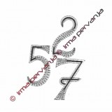 503306 - Numero 6 y 9 - 8,5 cm