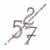 503307 - Numero 7 - 8,5 cm
