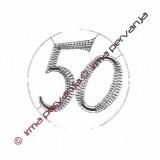 503350 - Number 50 - 8,5 cm