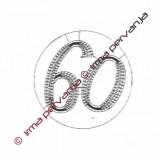 503360 - Numero 60 - 8,5 cm
