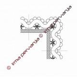413904 - Band lace corner