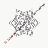 123703 - Motiv za v obročke - 7 cm
