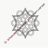 123704 - Motiv za v obročke - 7 cm
