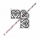 411902 - Corner for band lace