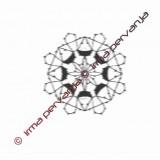 118501 - Snowflake - 6 cm