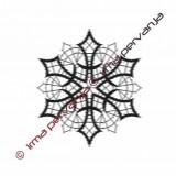 127605 - Snowflake - 11 cm