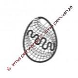 137601 - Easter egg - 7 cm
