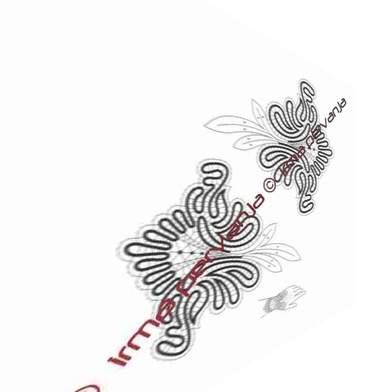 305101 - Rokavice brez prstov - 18 x 19 cm