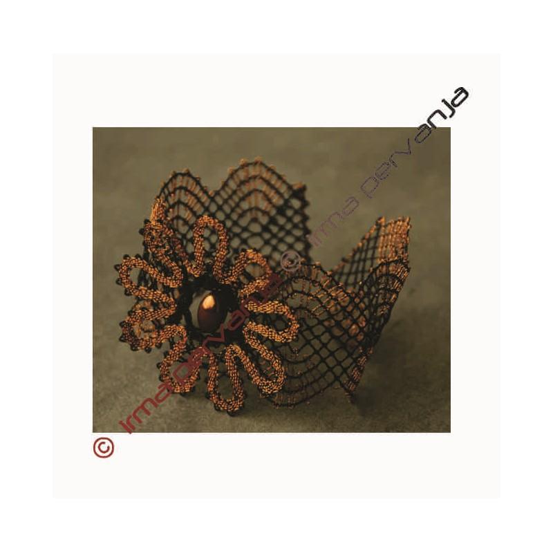 139602 - Vzorec za zapestnico - 17 cm