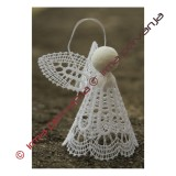 139302 - Pattern for Angel - height 6,5 cm