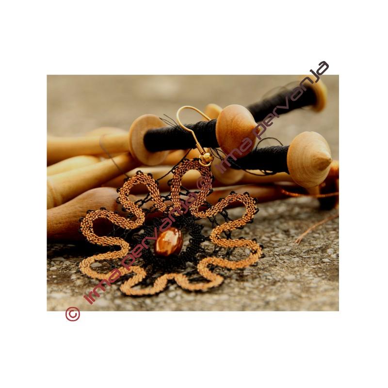 139603 - Disegno per orecchini - 5,5 cm