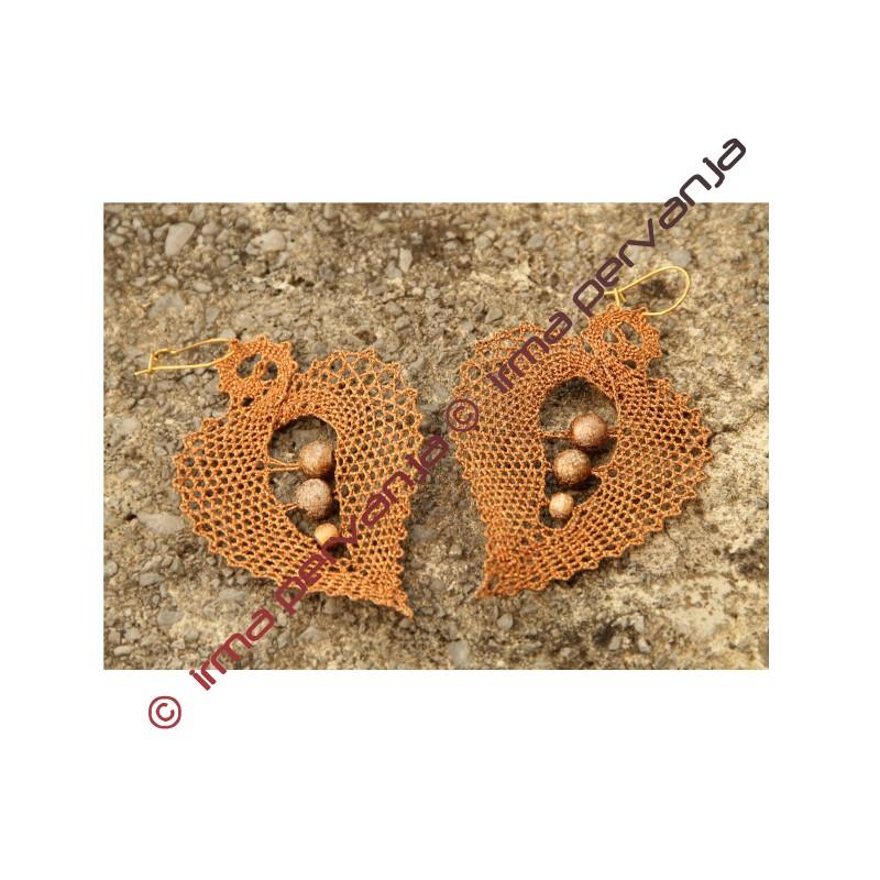 138602 - Patrón de pendientes - 5,5 cm