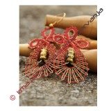 138502 - Pattern for earrings - 5,5 cm