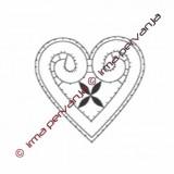 125102 - Corazón - 8,5 cm