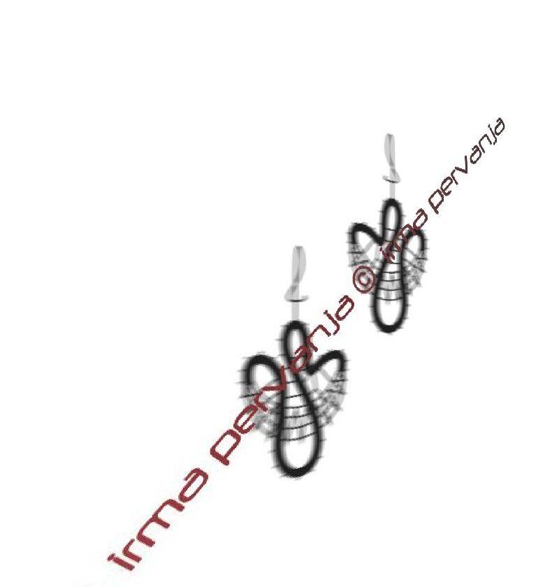 141002 - Uhani - 4 cm