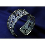 140201 - Pattern for bracelet - 3 x 18 cm