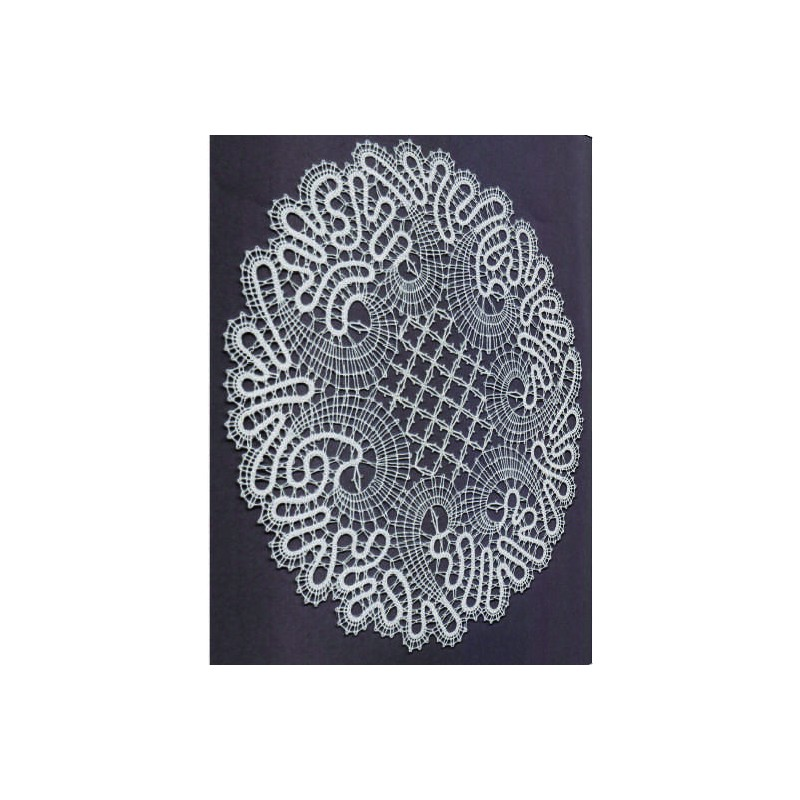 416201 - Pattern for mat - 20 x 22 cm
