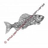 508201 - Fish - 23 cm
