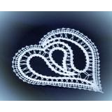 409909 - Patrón de corazón - 7 cm