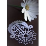 140904 - Pattern for greeting card lace - 7 cm