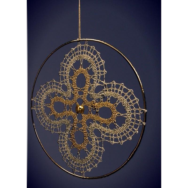 141602 - Motif for rings - 7 cm