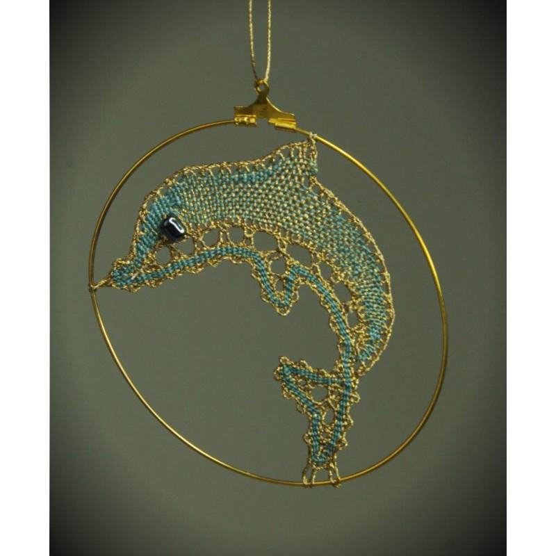 141701 - Obesek – delfin – 4,5 cm