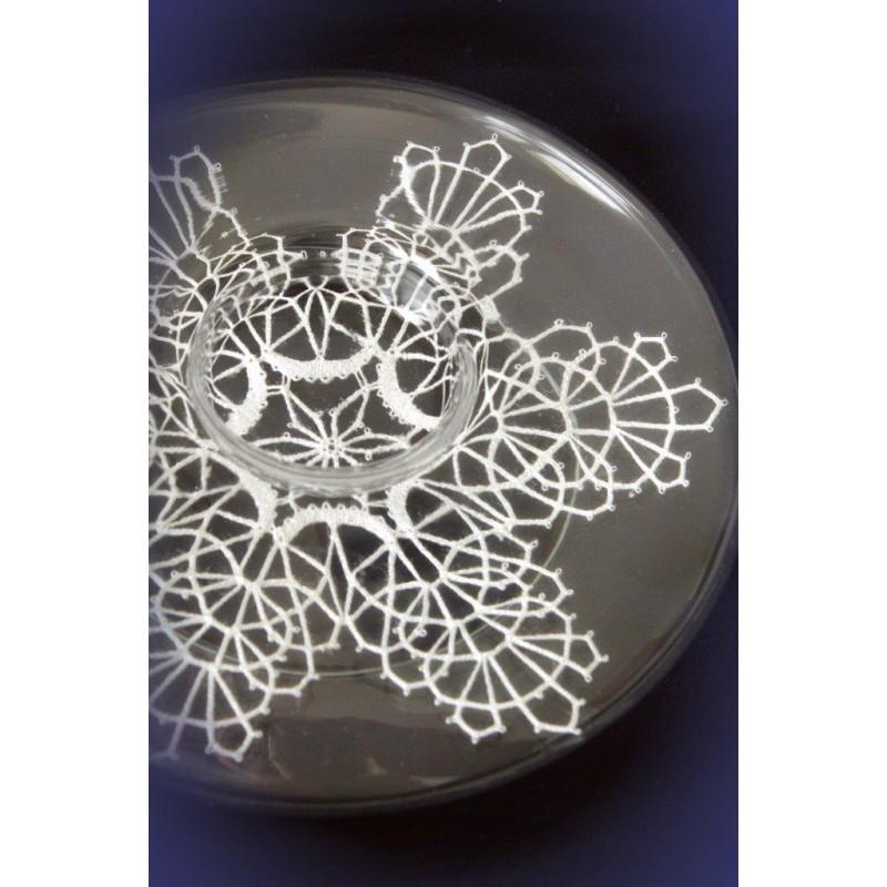 416607 - Prtiček – vzorec za svečnik – 14 cm
