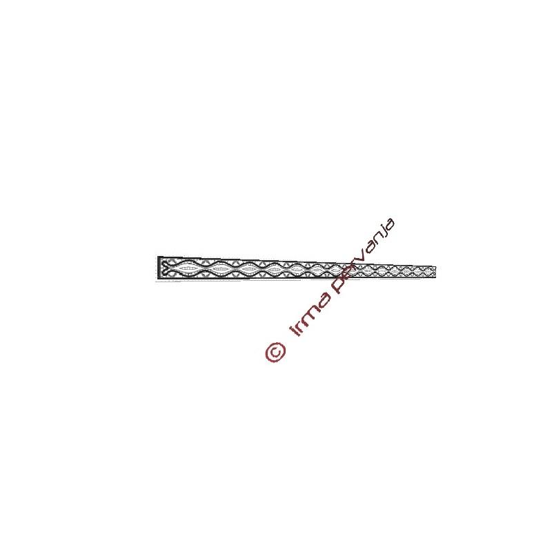 140206 - Disegno per merletto a metraggio - cintura - 3,5 cm