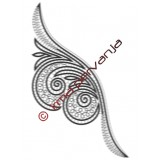 305403 - Fine della sciarpa - 27 cm