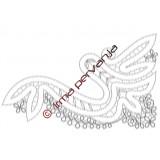 305406 - Fin de la bufanda - 24,5 cm