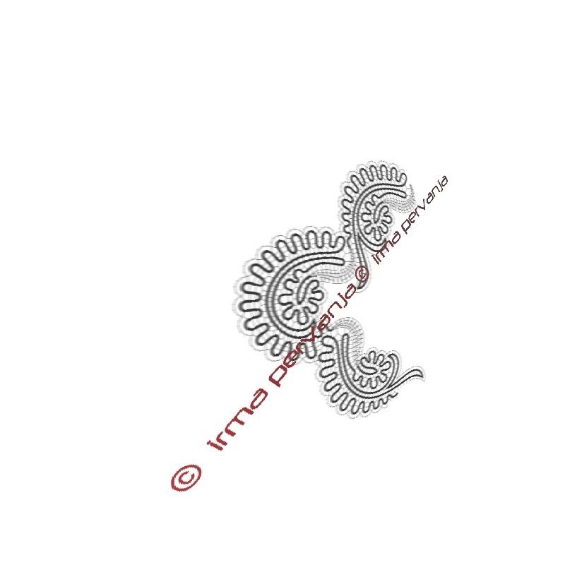 417204 - Band lace corner
