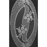 417001 - Mantel pequeño - 34 x 60 cm