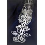 416702 - Disegno per tovagliolo per candeliere 12 x 30 cm