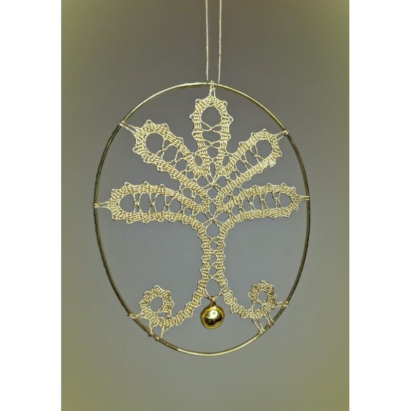 143901 - Inserzione di cerchi con campanellino – 8 cm
