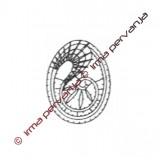 125901 - Uovo pasquale - 6 cm