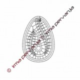 123801 - Uovo pasquale - 7 cm