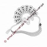 134001 - Lačni ježek - 14 cm