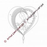 509302 - Poročni srček - 20 cm