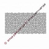 413206 - Tablecloth runner - center part - 20 x 40 cm
