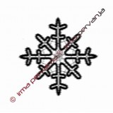 127601 - Copo de nieve - 12 cm