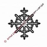 127601 - Snowflake - 12 cm