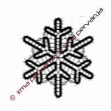 127603 - Copo de nieve - 10 cm